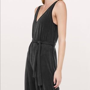 Lululemon Principal Dancer Jumpsuit 8 Black